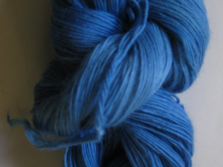 Malabrigo Lace, Continental Blue
