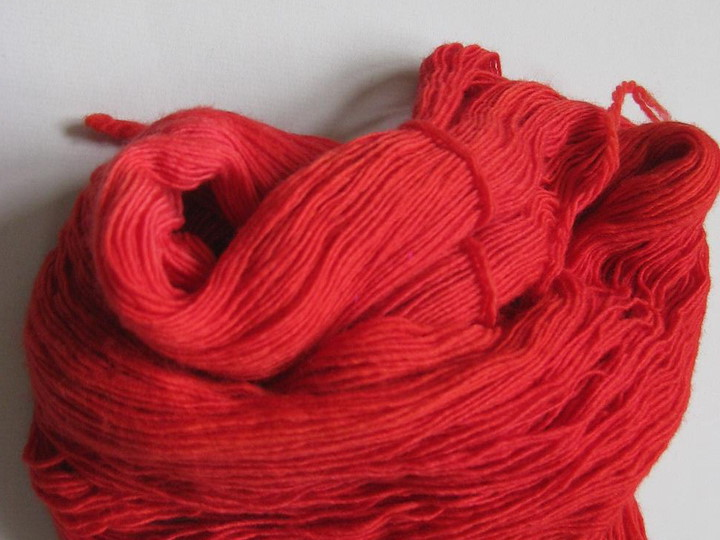 Malabrigo Lace, Vermillion