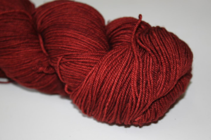 Malabrigo Sock, Boticelli Red
