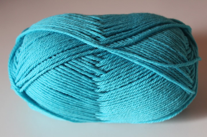 Pure Wool Worsted, Azure