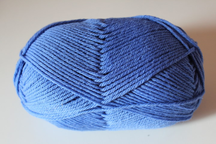 Pure Wool Worsted, Periwinkle