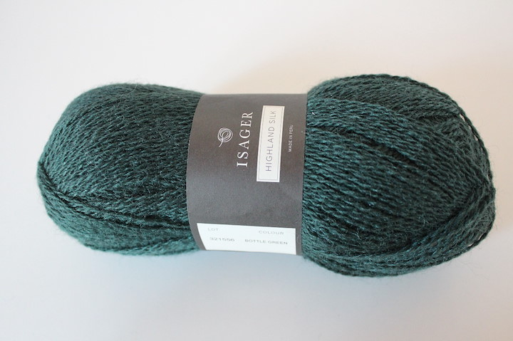 Highland Silk, Bottle Green