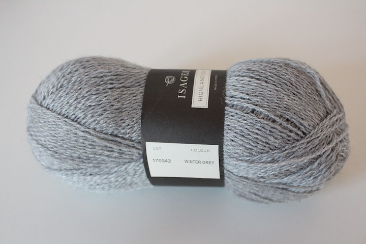 Highland Silk, Winter Grey
